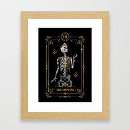The Empress III Tarot Card Framed Art Print