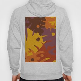 Colorful Graphic Autumn Leaves Hoody