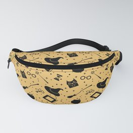 Magic symbols (yellow) Fanny Pack