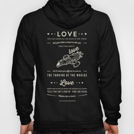Love by Captain Malcolm Reynolds [Serenity] Hoody