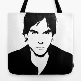 Ian Somerhalder Tote Bag