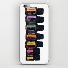Essential oils holistic iPhone Skin