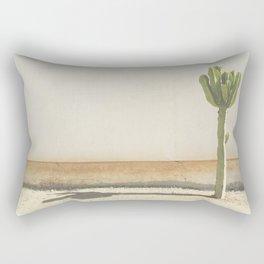 Cactus - Taupe Rectangular Pillow