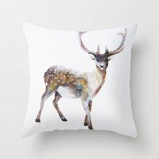 Oh Deer Throw Pillow