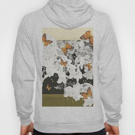 Hydrangea And Butterflies in Frame #decor #society6 Hoody