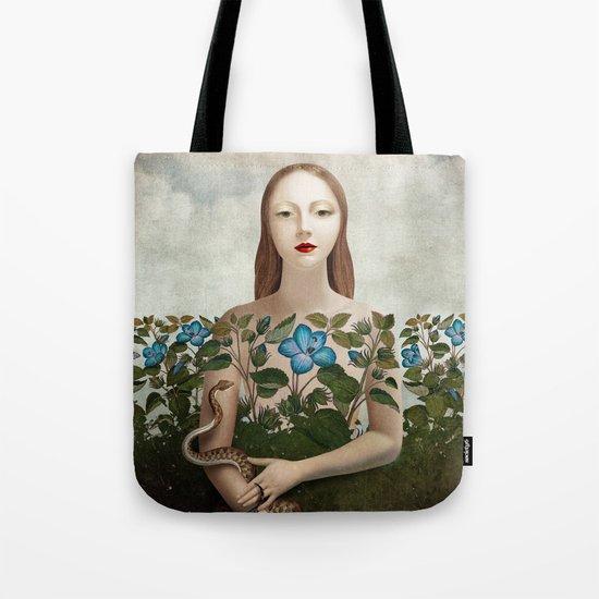 Eva and the Garden  Tote Bag