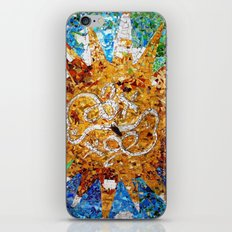 Barcelona, Spain. Parque Guell Mosaic. iPhone & iPod Skin