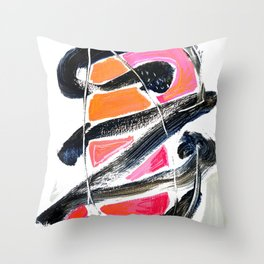 The Big Zag Throw Pillow