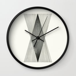 Intersect Wall Clock