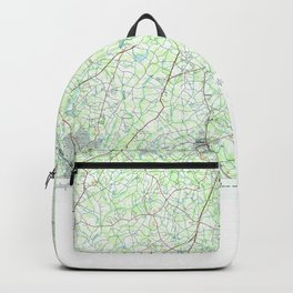 SC Greenville 262003 1984 topographic map Backpack