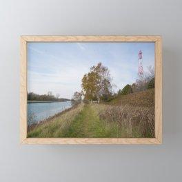 Sturgeon Bay Canal Framed Mini Art Print