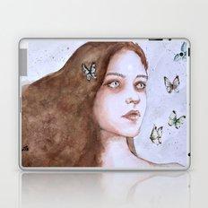 Tears and butterflies Laptop & iPad Skin