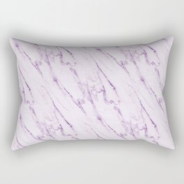 Purple Swirl Marble Rectangular Pillow
