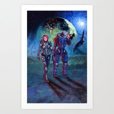 Trouble On Palaven Art Print