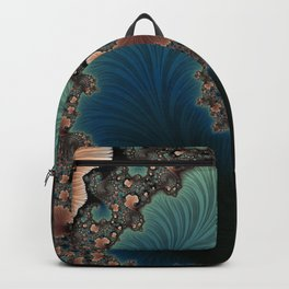 Velvet Crush - Fractal Art Backpack