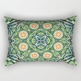 Succulent Splendor Rectangular Pillow
