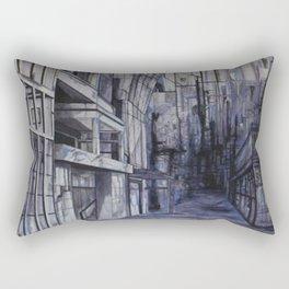 Invisible city Rectangular Pillow