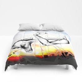 """Picture """"Broken Sky"""" Comforters"""