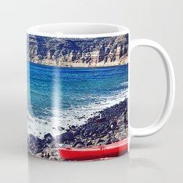 Greek Kayaks Coffee Mug