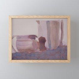 Monochrome Still Life Framed Mini Art Print