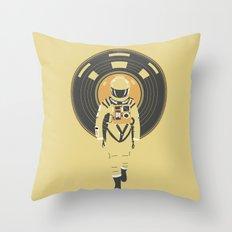 DJ HAL 9000 Throw Pillow