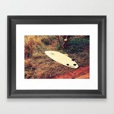 surfboard- Maui Framed Art Print