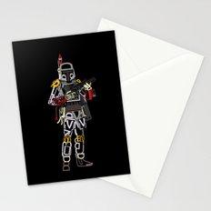 Boba Font Stationery Cards