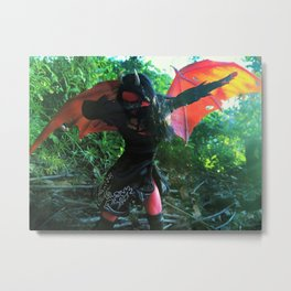Dabbing Demon Metal Print