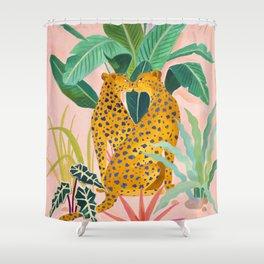 Cheetah Crush Shower Curtain