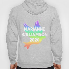 Marianne Williamson For President 2020 Rainbow Dove Hoody