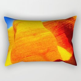 Torso of the woman / Earth mother Rectangular Pillow