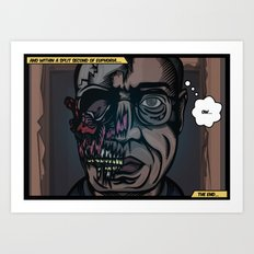 And within a split second of Euphoria.... Art Print