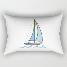 Lake Tahoe Sail On Rectangular Pillow