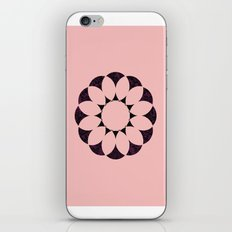 floral pink iPhone & iPod Skin