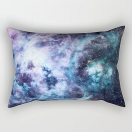 Tarantula Nebula Lavender Blue Dream Rectangular Pillow