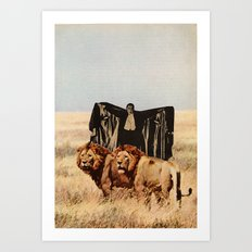Dracula's Bitches Art Print