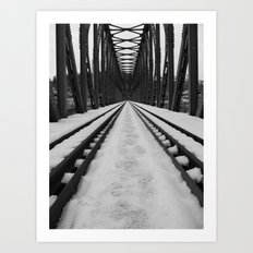 Bridging The Gap Art Print