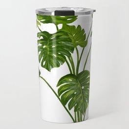 Monstera House Plant Travel Mug