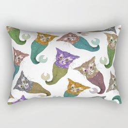 Cat Piranhas Rectangular Pillow