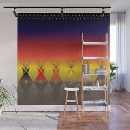 Night Tipi Wall Mural