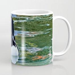 Male Hooded Merganser Coffee Mug