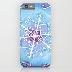 Watercolor Snowflake iPhone 6s Slim Case