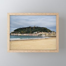 La Concha Framed Mini Art Print