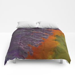 Ganges River Delta Aerial View Comforters