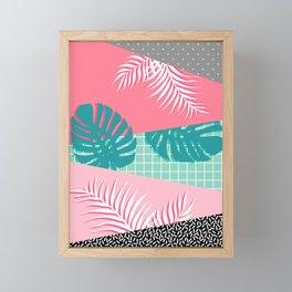 Palm Springs #society6 #decor #buyart Framed Mini Art Print