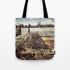 NYC Bikes Tote Bag