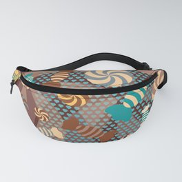 Chocolate Sugar Crush Fanny Pack