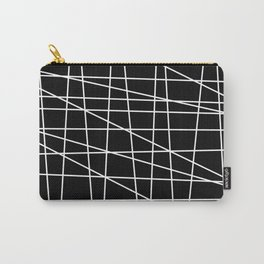 Gossamer. Black and white.1 Carry-All Pouch