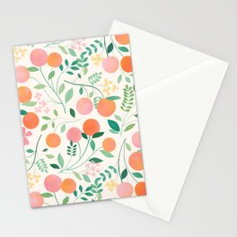 Vanilla Peaches Stationery Cards