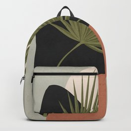 Tropical Leaf- Abstract Art 5 Backpack